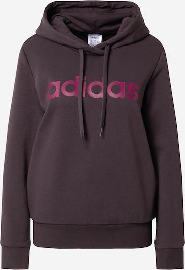ADIDAS PERFORMANCE Sportsweatshirt in burgunder, Produktansicht