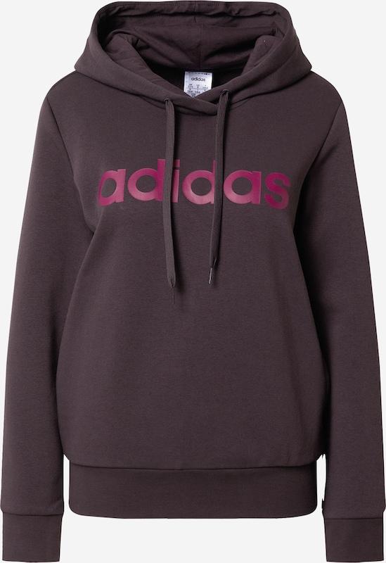 ADIDAS PERFORMANCE Sportsweatshirt in Burgunder | ABOUT YOU