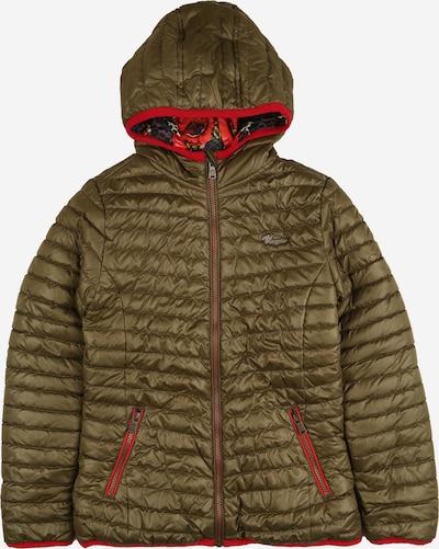 VINGINO Prehodna jakna 'Turien' | temno zelena / rdeča barva, Prikaz izdelka