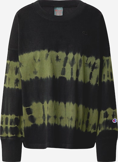 Marškinėliai iš Champion Reverse Weave , spalva - rusvai žalia / juoda, Prekių apžvalga