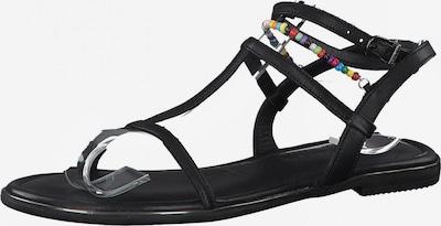 TAMARIS Sandaler med rem i sort, Produktvisning