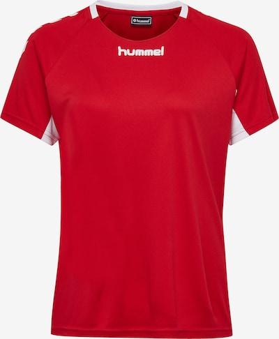 Hummel Trainingsshirt in rot / weiß, Produktansicht