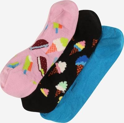 Happy Socks Socken 'Ice Cream' in blau / kiwi / hellpink / schwarz / weiß, Produktansicht