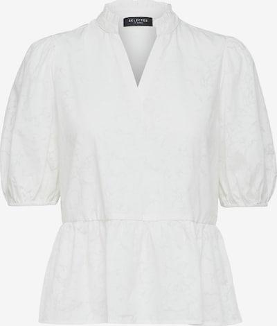 Bluză 'Pernilla' SELECTED FEMME pe alb natural, Vizualizare produs