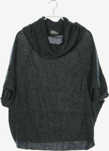 Mandarin Sweater & Cardigan in XS in Grey