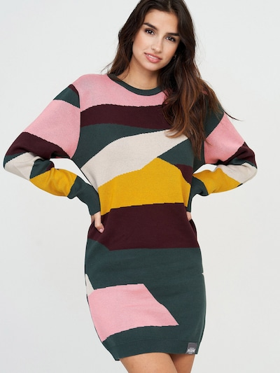 mazine Knit Dress ' Mina ' in mischfarben, Modelansicht