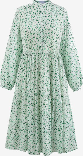 Noella Blusenkleid 'Lipe' in jade / weiß, Produktansicht