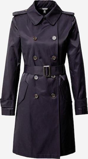 Palton de primăvară-toamnă Lauren Ralph Lauren pe navy: Privire frontală