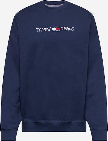 Tommy Jeans Sweatshirt in Blau