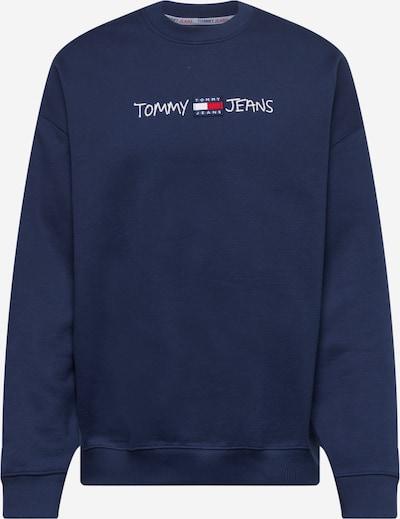 Tommy Jeans Sweatshirt in navy / rot / weiß, Produktansicht