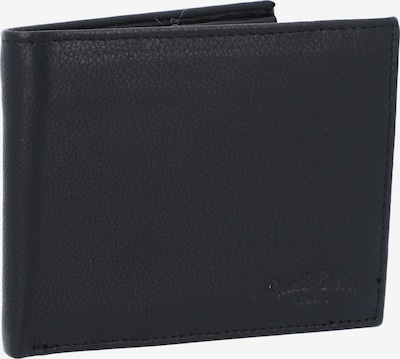 Gusti Leder Geldbörse 'Lawrence' in schwarz, Produktansicht