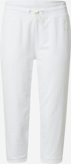 ESPRIT SPORT Спортен панталон в светлозелено / бяло, Преглед на продукта