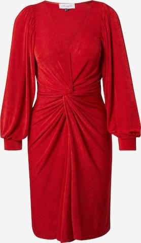 Closet London Sukienka koktajlowa w kolorze czerwony