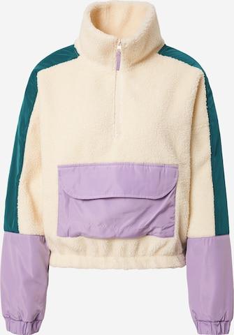 Gina Tricot Sweatshirt 'Gail' in Beige