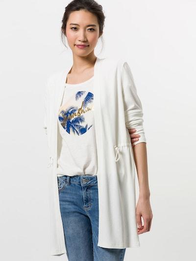 zero Strickjacke in weiß, Modelansicht