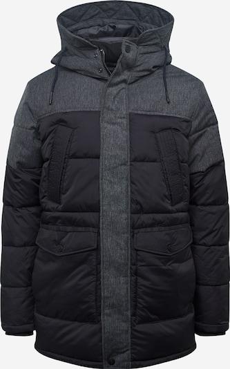 JACK & JONES Winterparka 'BOSTON' in de kleur Grijs gemêleerd / Zwart, Productweergave