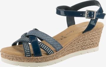 JANE KLAIN Sandale in Blau