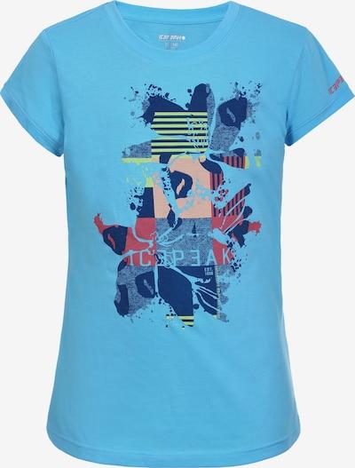 ICEPEAK Funkčné tričko 'Kaub Jr' - vodová / zmiešané farby, Produkt