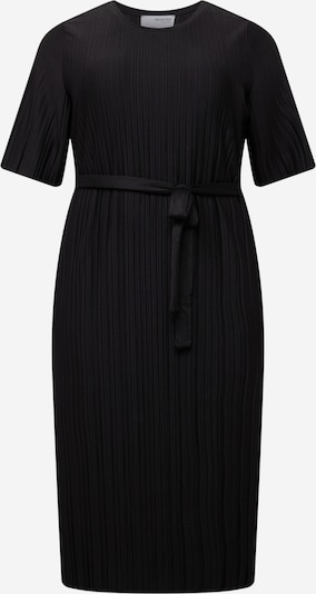 Selected Femme Curve Jurk 'Terl' in de kleur Zwart, Productweergave