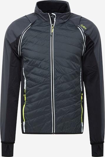CMP Športová bunda - neónovo žltá / tmavosivá / čierna, Produkt