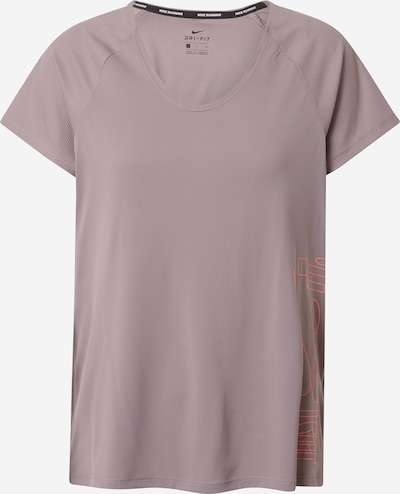 NIKE Funkcionalna majica | pastelno lila / neonsko oranžna barva, Prikaz izdelka