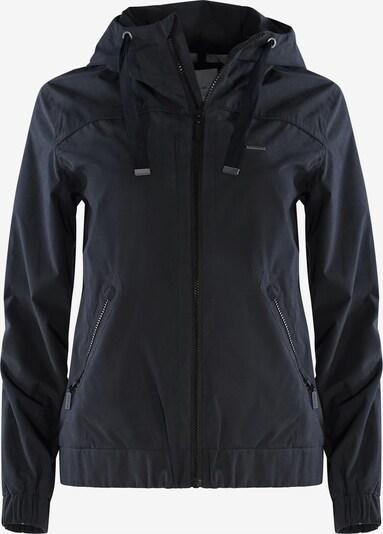 mazine Jacket ' Shelby ' in schwarz, Produktansicht