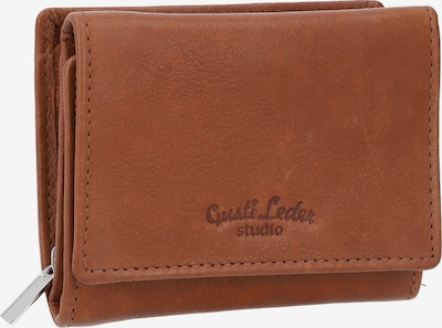 Gusti Leder Geldbörse in braun, Produktansicht