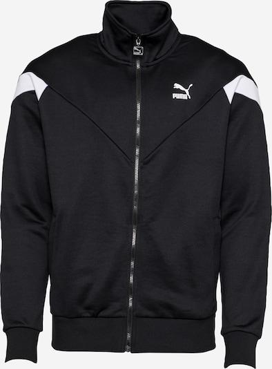 PUMA Sweatvest in de kleur Zwart / Wit, Productweergave