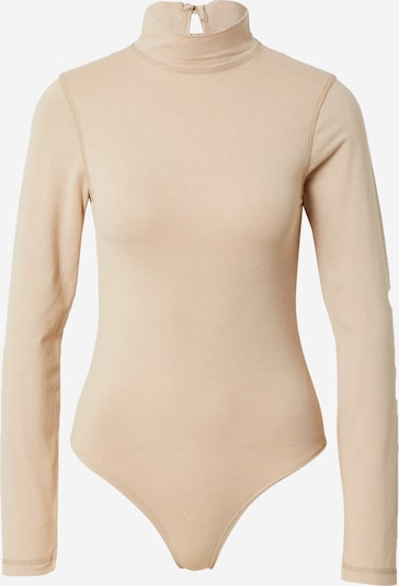 Missguided Shirt body in de kleur Poederroze, Productweergave
