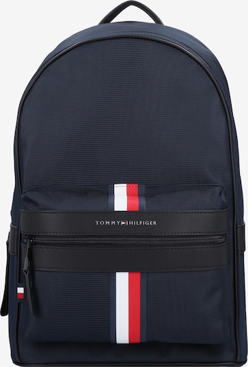 TOMMY HILFIGER Rucksack in navy / rot / weiß, Produktansicht