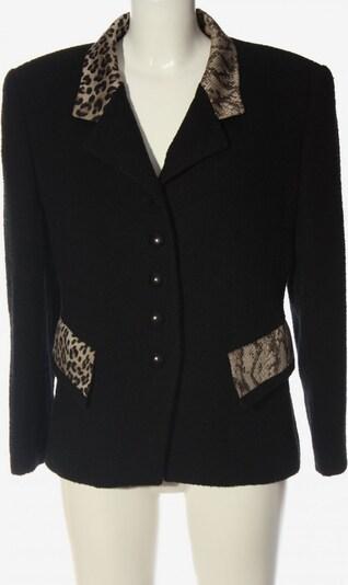 Louis Féraud Strickblazer in XL in creme / schwarz, Produktansicht