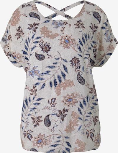 TOM TAILOR Bluse in grau / mischfarben, Produktansicht