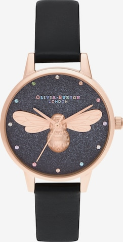 Olivia Burton Uhr in Schwarz