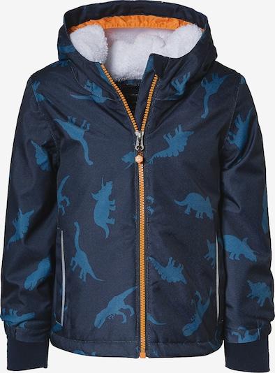 myToys-COLLECTION Outdoorjacke in blau / orange, Produktansicht
