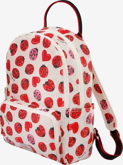 Cath Kidston Rucksack in beige / rosé / rot / melone / schwarz, Produktansicht