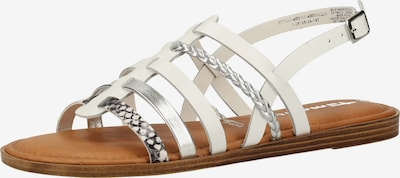 TAMARIS Sandales à lanières en blanc, Vue avec produit