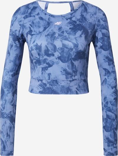 Tricou funcțional 4F pe albastru / albastru fum, Vizualizare produs