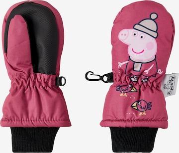 NAME IT Handschuh 'Peppa Pig' in Pink