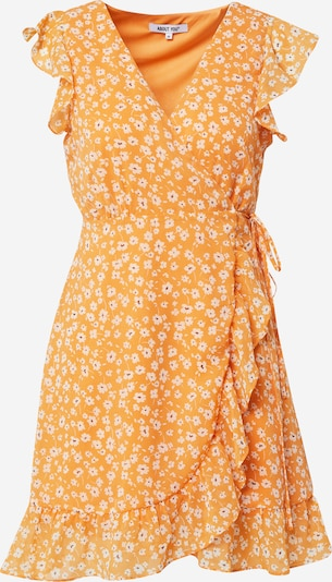 ABOUT YOU Kleid 'Masha' in orange / weiß, Produktansicht