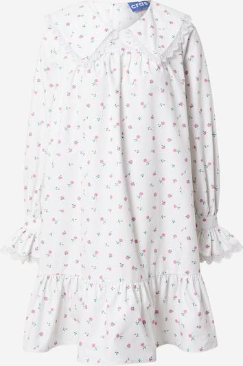 Crās Kleid 'Alexiscras' in hellgrün / rosa / weiß, Produktansicht