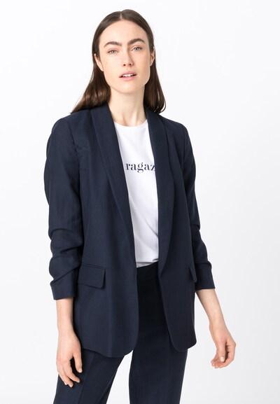 HALLHUBER Blazer in nachtblau, Modelansicht