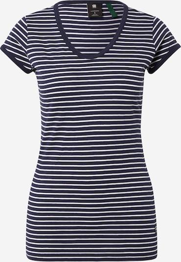 G-Star RAW Shirt in de kleur Blauw / Wit, Productweergave