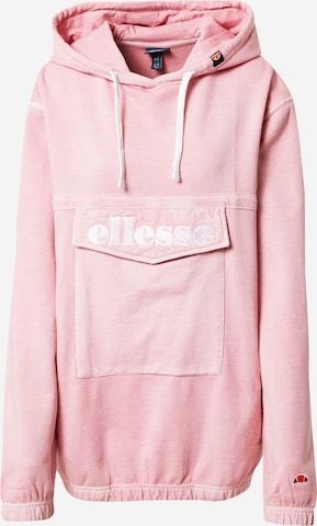 ELLESSE Sweatshirt 'Vassily' in Pink