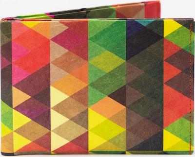 paprcuts Portemonnaie Dreiecke Bunt in mischfarben: Frontalansicht