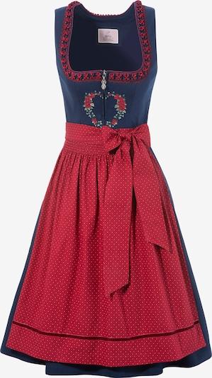 MARJO Kleid in navy / rot / weiß, Produktansicht