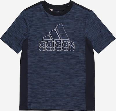 ADIDAS PERFORMANCE Functioneel shirt in de kleur Nachtblauw / Zwart / Wit, Productweergave