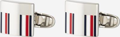 Gemelli da polso TOMMY HILFIGER di colore rosso / argento / bianco, Visualizzazione prodotti