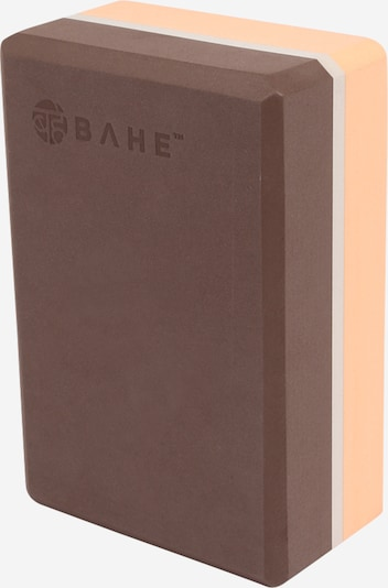 bahé yoga Yoga Block in braun / pfirsich / weiß, Produktansicht