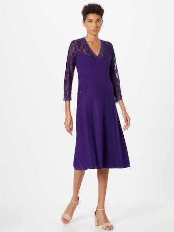 Derhy Knitted dress 'QUENNS' in Purple