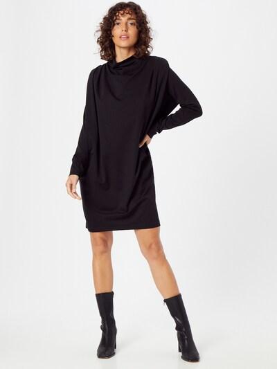DRYKORN Kleid 'LINENE' in schwarz, Modelansicht